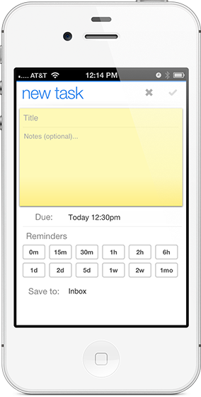 portable productivity: pagico's iphone app (3/4)