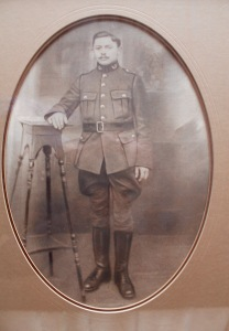Postwar pose – Jean-Baptiste Delcon circa 1918.